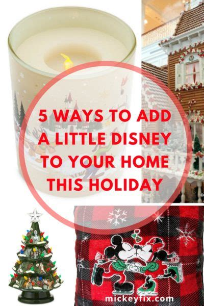 how to add some disney to your home for the holidays mickey fix
