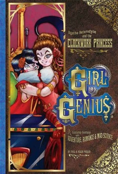 Review Genius By Phil And Kaja Foglio by Graphic Novel Review Agatha Heterodyne The Clockwork