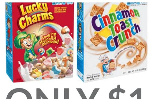 general mills cereal coupon 2018