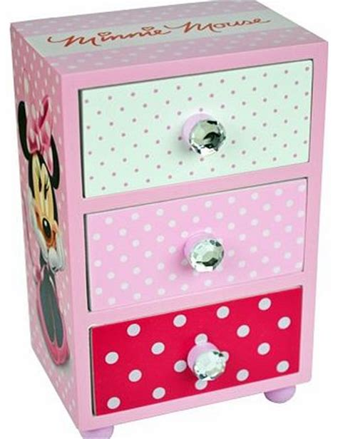 Minnie Mouse Chest Of Drawers 9 drawer storage unit