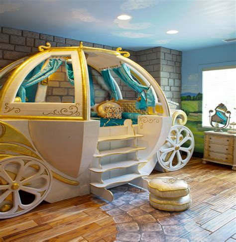 pumpkin carriage bed fantasy beds for kids from race cars to pumpkin carriages