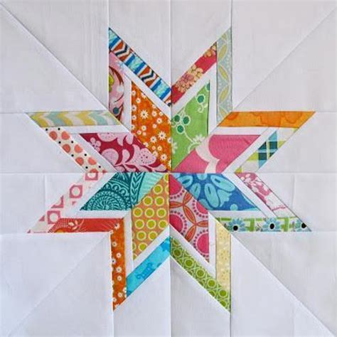 lone starburst paper piecing templates craftsy