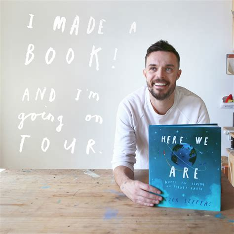 here we are notes here we are a signing with oliver jeffers