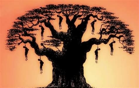 black bodies swinging in the southern breeze southern trees bear strange fruit blood on the leaves and
