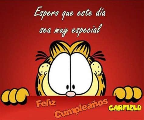 imagenes cumpleaños garfield diveridas imagenes de garfield de feliz cumplea 241 os