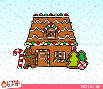 gingerbread house builder christmas clip art  littlered