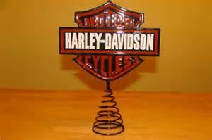 50 harley davidson christmas tree topper for sale in