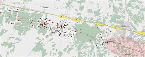chelyabinsk map chelyabinsk superbolide part 6 meteorite recon