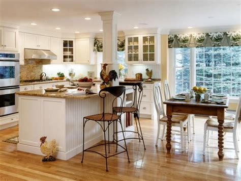 Snack Grange Blanche by Guide To Creating A Country Kitchen Diy