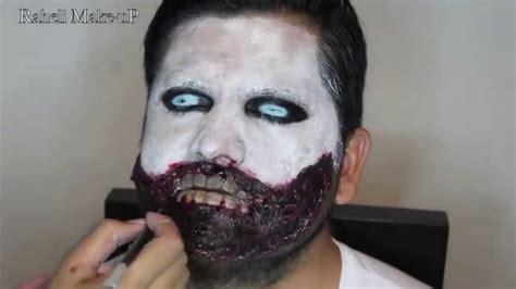 imagenes de maquillaje para halloween hombres maquillaje de halloween para hombre youtube