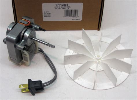 97012041 broan nutone bathroom vent fan motor amp wheel 50