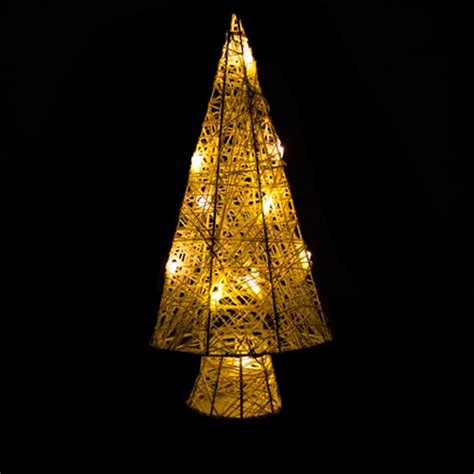 arbol de navidad led arbol de navidad led color blanco calido