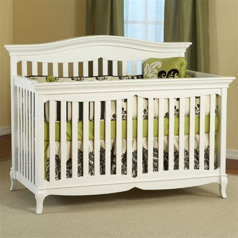 Bonavita Carla Crib by Evolur Curve Top Collection Pewter 808 Ptw