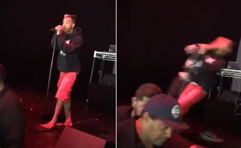 Gets On by Xxxtentacion Gets Knocked Out On Stage