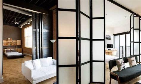 inspirasi partisi ruangan keren  hunian minimalis