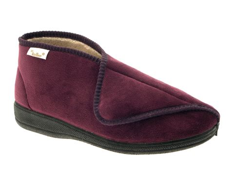 diabetic slippers for dr keller diabetic orthopaedic comfort slippers boots