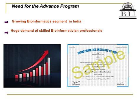 Mba In Bioinformatics by Advance Program In Bioinformatics