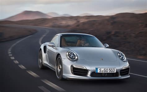 new porsche 911 turbo 2014 porsche 911 turbo s front end in motion photo 10