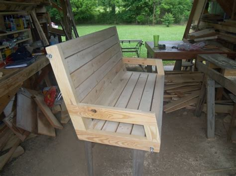 2x4 porch swing randy whittemire s 2 215 4 porch swing jays custom creations