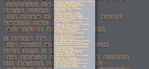 possible scrabble words possible scrabble challenge creating poetry from all the