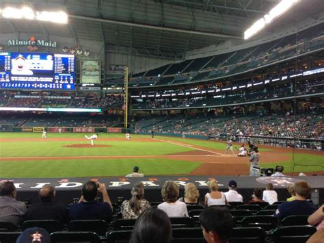 minute maid park section  home  houston astros