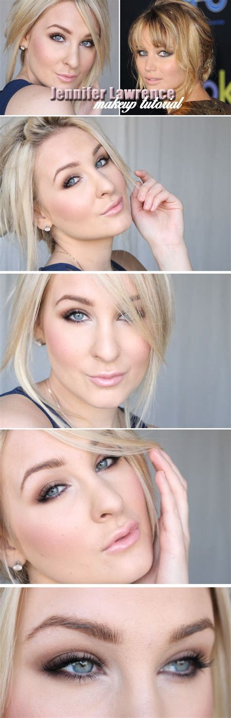 jennifer lawrence makeup tutorial dagens makeup jennifer lawrence tutorial helen