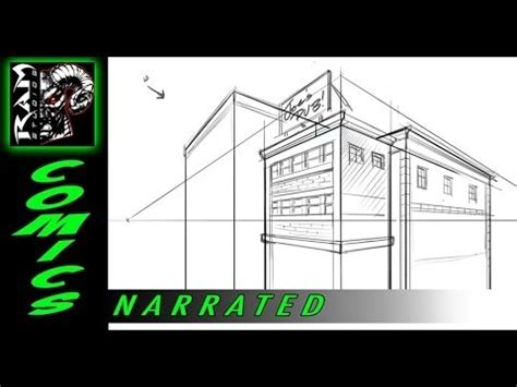 sketchbook pro lineart tutorial how to draw buildings using sketchbook pro tutorial