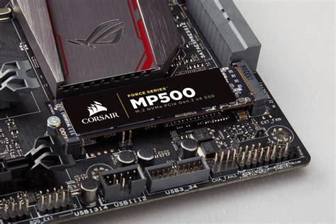 Ssd Corsair Series Mp500 M2 Sata Nvme Pcie 240gb corsair releases m 2 nvme mp500 ssd series