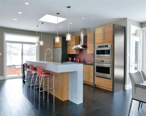 bamboo kitchen cabinets in natural finish kitchen craft the terni door style from kitchen craft features eco
