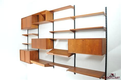 kristiansen wall system in teak room of