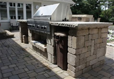 The Patio Island by Outdoor Kitchen Landscaping And Landscape Design For