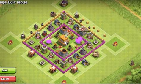 coc map layout th6 town hall 6 farming base layout www pixshark com