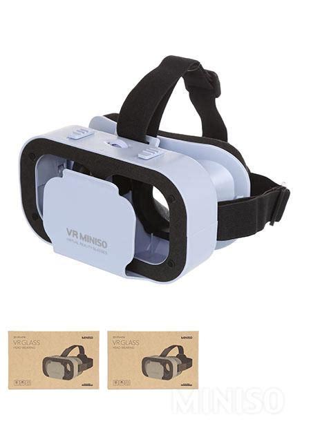 Vr Glass Miniso 3d Reality Glasses G05a Blue Miniso Australia