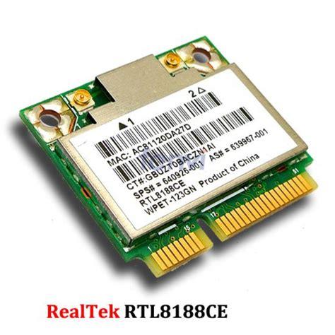 wireless card realtek rtl8188ce half mini pci e wireless card for hp