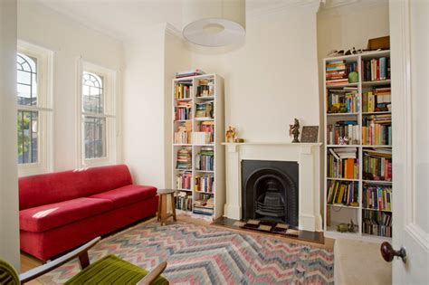 edwardian living room ideas workers cottage addition living room sydney by danny broe architect