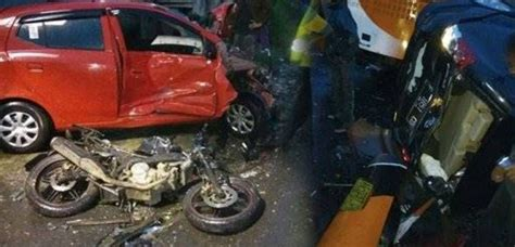 Kronologi Kejadian Kecelakaan by Kecelakaan Puncak Bogor 3 Orang Tewas 12 Kendaraan Rusak