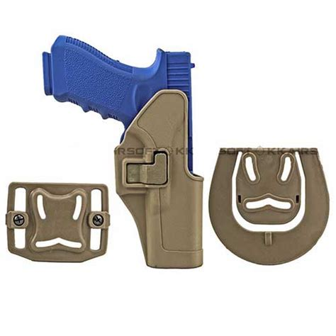 Best Quality Blackhawk Cqc Glock Holster G17 With Mag Pouch black holster hawk cqc gun glock 17 22 31 holster