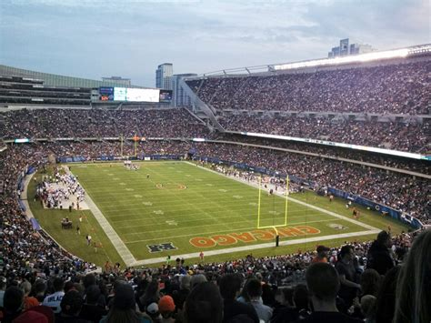 chicago bears stadium seating capacity seating expansion of soldier field the 4th phase