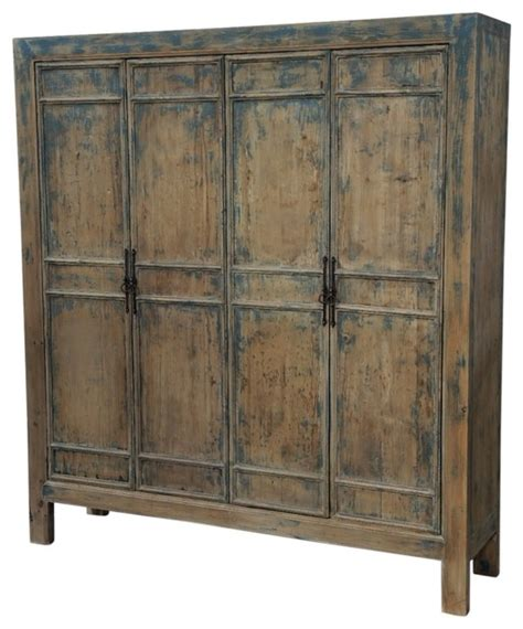 Large Wooden Storage Cabinets by Reclaimed Wood Large Armoire Farmhouse Armoires And