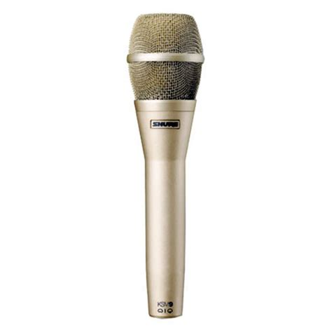 Microphone Shure Ksm 9 Kw microphones shure ksm 9 sl vocal condenser microphone