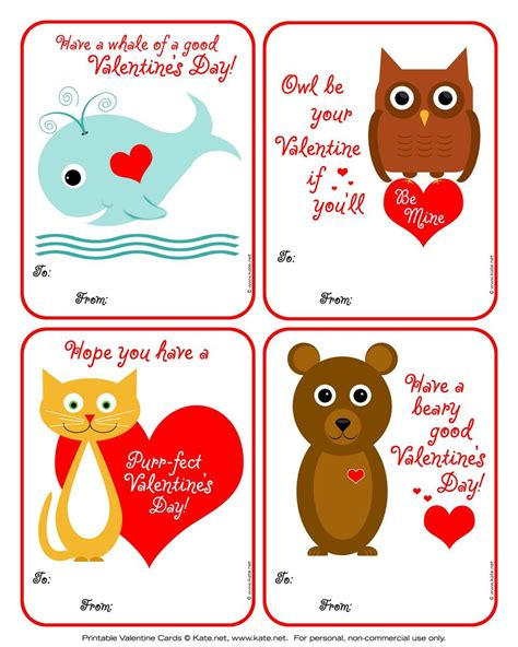kid valentines s card templates valentines day card 5