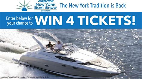 ny boat show tickets abc7 eyewitness news wabc tv new york