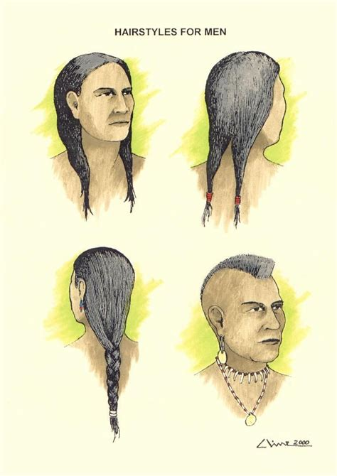 native american hairstyles wanoag hair styles for men http www rootsweb