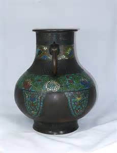 Japanese Bronze Vases by Antiques Atlas 19th C Japanese Bronze And Chleve Vase