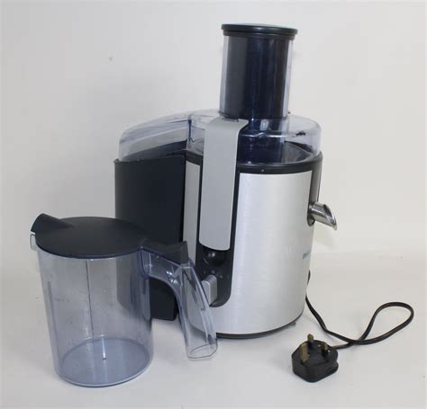 Juicer Philips 1861 philips hr1861 anodised aluminium 700w 2l pulp container