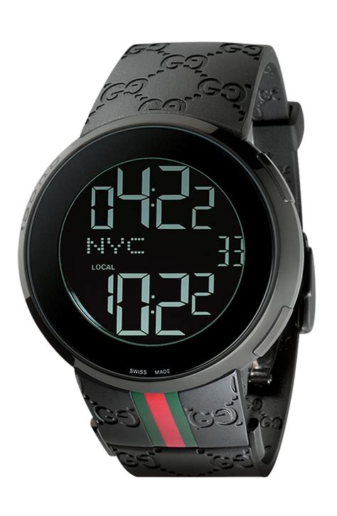 gucci large rubber band digital