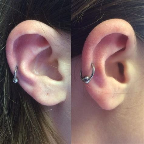 ear types 60 trendy types of ear piercings and combinations choose your look