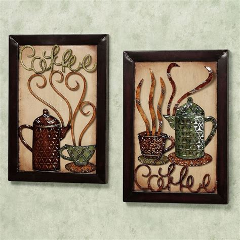 Metal Wall For Kitchen by Metal Wall Decor Kitchen 101design