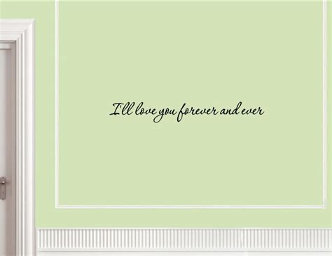 word stickers for walls i ll you forever and vinyl wall decals quotes sayings word on wall decal jpg
