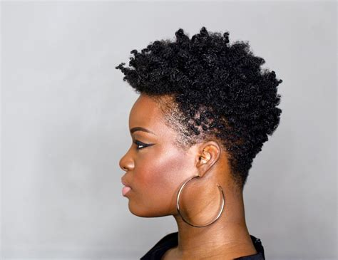 how to do a tapered haircut on natural hair diy tapered cut tutorial on 4c natural hair step by step